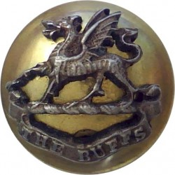 Honourable Artillery Company (Artillery) 16mm with King's Crown. Brass Military uniform button