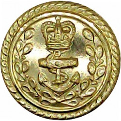 Royal Engineers - GviR - Officer Quality 26mm with King's Crown. Brass Military uniform button