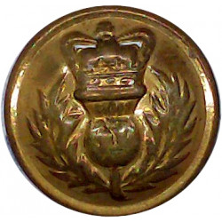 Royal Army Medical Corps 19mm - 1902-1952 with King's Crown. Brass Military uniform button