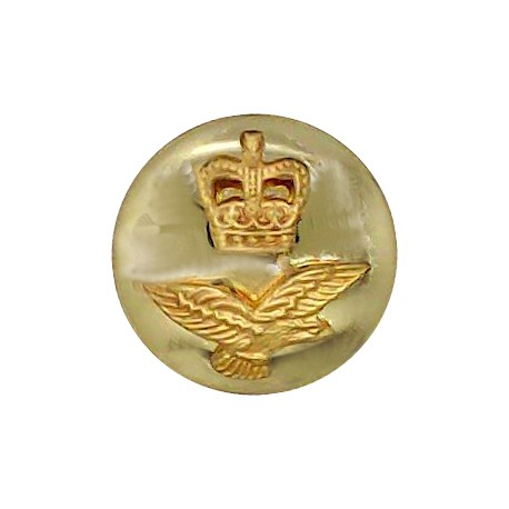 Canada - General Service Button 26mm - 1946-1952 with King's Crown. Gilt Military uniform button