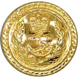 Duke of Lancaster's Own Yeomanry 15mm - Screw-Fit  Gilt Military uniform button