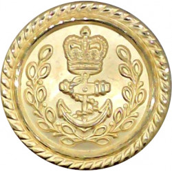 Duke of Lancaster's Own Yeomanry 15.5mm - Officers  Bronze Military uniform button