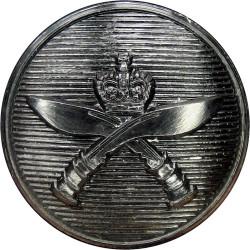 Cambridgeshire Regiment 19mm  Silver-plated Military uniform button
