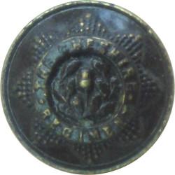 Cheshire Regiment - Rimmed 15mm - Officers  Bronze Military uniform button