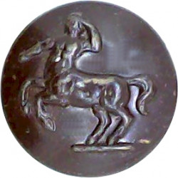 Royal Sussex Regiment 13.5mm  Bronze Military uniform button