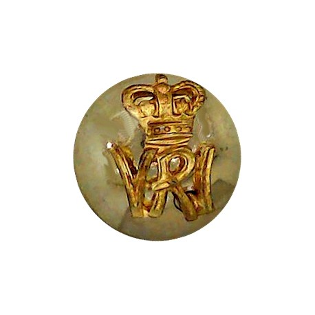 Grenadier Guards - EiiR 17.5mm with Queen Elizabeth's Crown. Brass Military uniform button