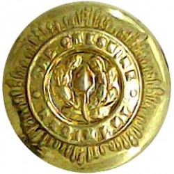 Cheshire Regiment 14mm - Officers  Gilt Military uniform button