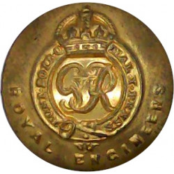Royal Norfolk Regiment 14mm - 1935-1959 Brass Military uniform button