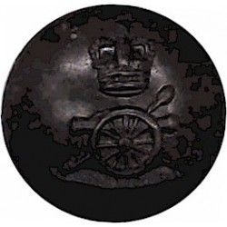 Colonels And Brigadiers - EiiR 19.5mm - Post-1952 with Queen Elizabeth's Crown. Gilt Military uniform button