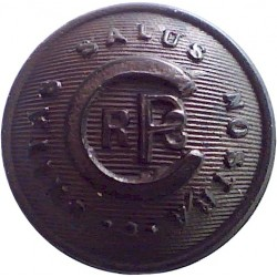North Staffordshire Regiment (The Prince Of Wales's) 15mm Bronze Military uniform button