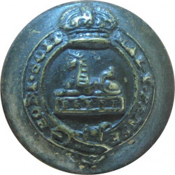 Royal Hampshire Regiment 19mm - Rimmed  Brass Military uniform button