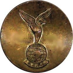 Royal Air Force Association 19.5mm  Brass Military uniform button