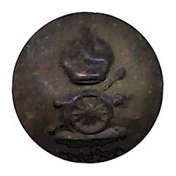 Hampshire Yeomanry (Carabiniers) 19mm Brass Military uniform button