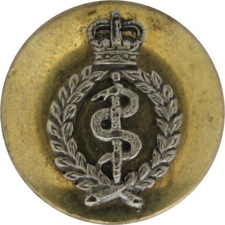 South African Defence Force (Coat Of Arms) 16mm Brass Military uniform button
