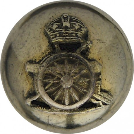Royal Indian Army Service Corps - GRI 23.5mm - 1936-1947 with King's Crown. Brass Military uniform button