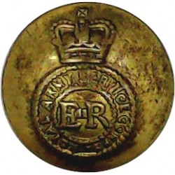 Army Service Corps 17mm - 1902-1918 with King's Crown. Brass Military uniform button
