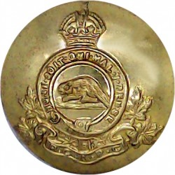 Royal Canadian Army Pay Corps 20.5mm - 1924-1952 with King's Crown. Gilt Military uniform button