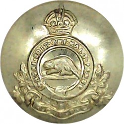 Berkshire Yeomanry Battery 299th Field Regiment RA 25mm with King's Crown. Brass Military uniform button