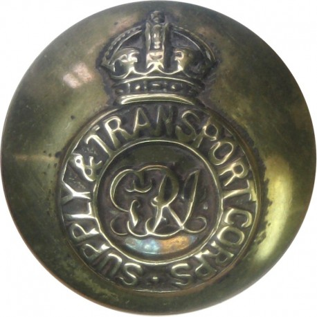 Colonels And Brigadiers - GvR 17.5mm - 1911-1936 with King's Crown. Brass Military uniform button