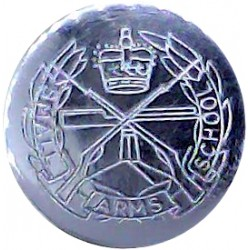 Ceylon Mounted Rifles 19.5mm - 1906-1938 White Metal Military uniform button