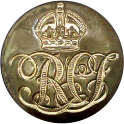 Westminster Dragoons (2nd County Of London Yeomanry) 16.5mm - No Rim Gilt Military uniform button