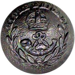 Black Watch (Royal Highland Regiment) Blazer Button 15.5mm with Queen Elizabeth's Crown. Gilt Military uniform button
