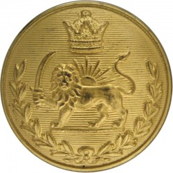Royal Gloucestershire Hussars 22.5mm  Gilt Military uniform button