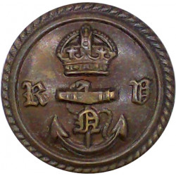 West Nova Scotia Regiment (Canada) 25.5mm - 1936-1968 Gilt Military uniform button