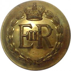 Duke of Lancaster's Own Yeomanry 20.5mm - Officers  Bronze Military uniform button