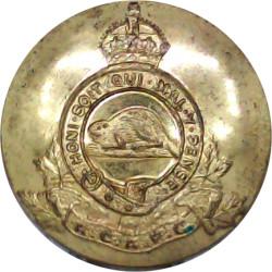 Honourable Artillery Company (Artillery) Rare Size 12.5mm Ball Button with King's Crown. Brass Military uniform button