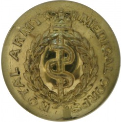 Royal Horse Artillery: 3rd Regt: N Bty (Eagle Troop) 17mm Flat Indented Gilt Military uniform button