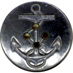 United States Navy Coat Button - WW2 32mm  Plastic Military uniform button