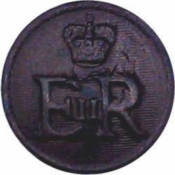 Sweden - Kungliga Dalarnas Regemente 14mm - Pre-2000  Gilt Military uniform button