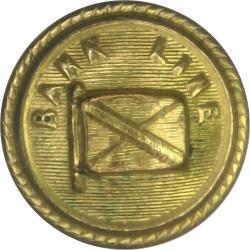 Bank Line - Shipping Button 17mm  Gilt Merchant Navy or Shipping uniform button