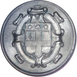 Christ's Hospital - Crest Type 29mm - Black  Horn Civilian uniform button