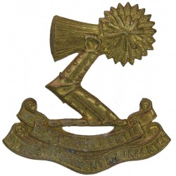 3rd (Auckland) Regiment - New Zealand 1911-21 Right Arm  Brass Other Ranks' collar badge