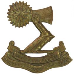 3rd (Auckland) Regiment - New Zealand 1911-21 Left Arm  Brass Other Ranks' collar badge
