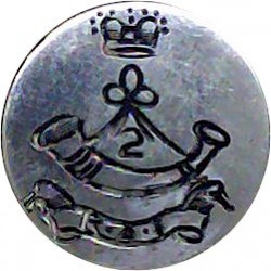 Swiss Army - Plain Rim 23mm White Metal Military uniform button