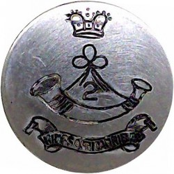 Royal Signals: 94 (Berkshire Yeomanry) Signal Sqn 14mm - Jimmy FR Silver-plated Military uniform button