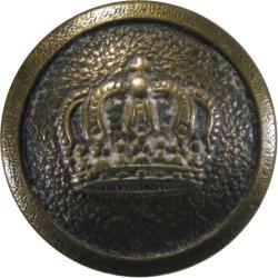 Imperial German Army - WW1 Pattern 20.5mm - 1907-1919  Brass Military uniform button