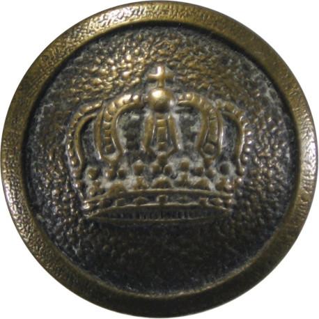 7th Duke Of Edinburgh's Own Gurkha Rifles - Black 26mm - With Cipher  Horn Military uniform button