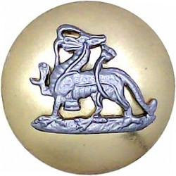 Royal Canadian Navy - Officers (Roped Rim) 17mm - 1910-1952 with King's Crown. Bronze Military uniform button
