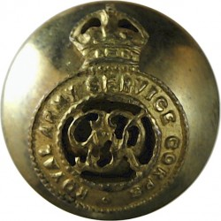 French Marine Infantry - Officers 14.5mm - Lined Brass Military uniform button