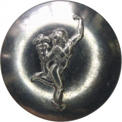 Royal Signals: 94 (Berkshire Yeomanry) Signal Sqn 19mm - Jimmy FR  Silver-plated Military uniform button