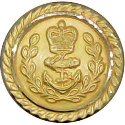 USA - Culver Military Academy 15.5mm - Lined Gilt Military uniform button