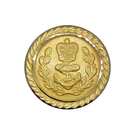 USA - Culver Military Academy 15.5mm - Lined Gilt Military uniform button