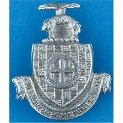 Leeds City Police - Pre-1974 Collar Badge Chrome-plated UK Police or Prison insignia