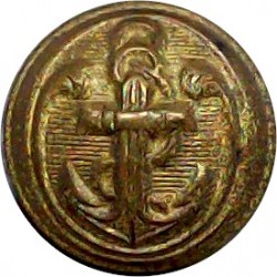 Royal Signals (No Lettering) 20mm Brass Military uniform button