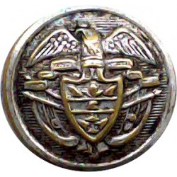 15th King's Royal Hussars 18mm - 1902-1922 with King's Crown. Brass Military uniform button