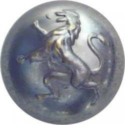 Belgian Army 18mm  Chrome-plated Military uniform button